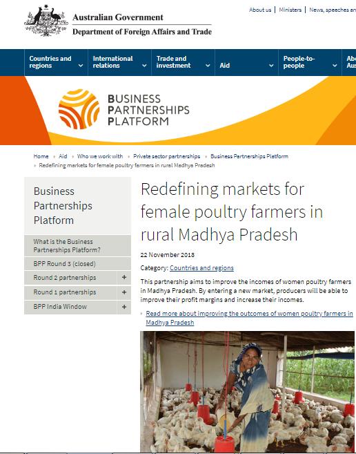 NSPDT – National Smallholder Poultry Development Trust
