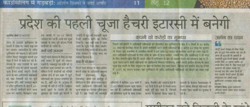 News paper cutting